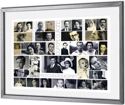 G n alogiques contemporains - Idee arbre genealogique original ...